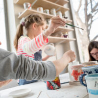 Paint your Own Pot at Home